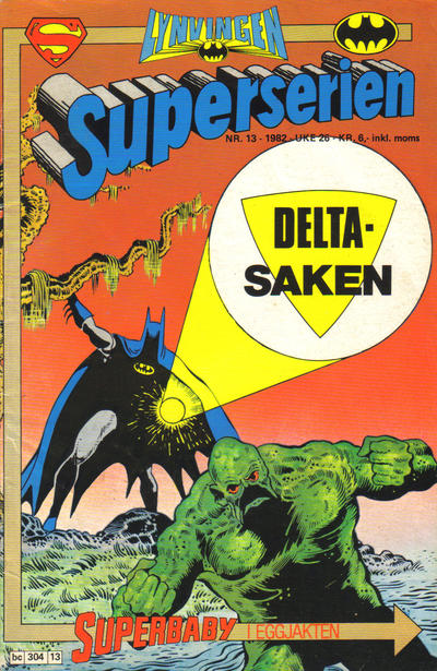 Cover for Superserien (Semic, 1982 series) #13/1982