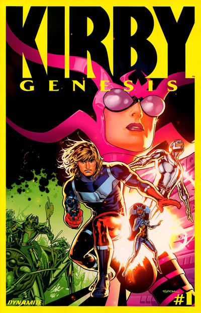 Cover for Kirby: Genesis (Dynamite Entertainment, 2011 series) #1 [Cover A (Portrait)]