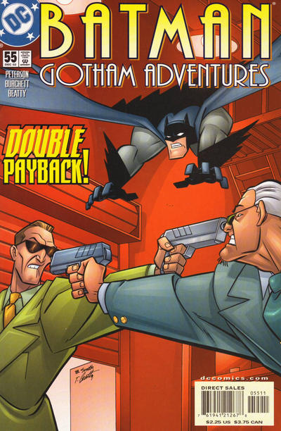 Cover for Batman: Gotham Adventures (DC, 1998 series) #55 [Direct]