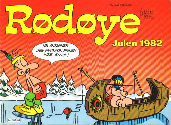 Cover for Rødøye (Semic, 1980 series) #1982