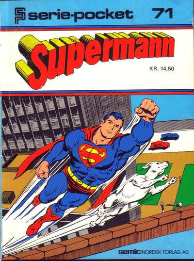 Cover for Serie-pocket (Semic, 1977 series) #71