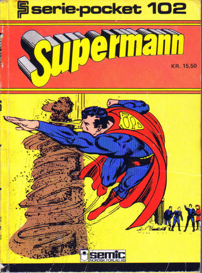 Cover for Serie-pocket (Semic, 1977 series) #102