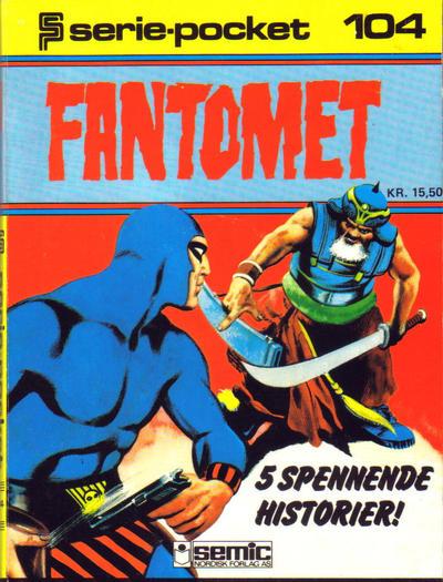 Cover for Serie-pocket (Semic, 1977 series) #104