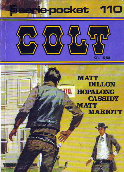 Cover for Serie-pocket (Semic, 1977 series) #110