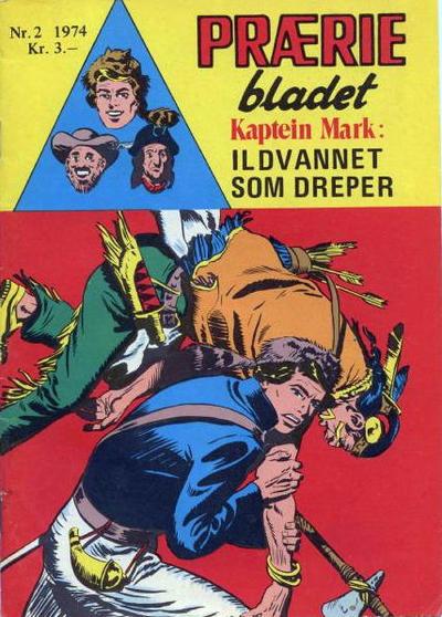 Cover for Præriebladet (Serieforlaget / Se-Bladene / Stabenfeldt, 1957 series) #2/1974