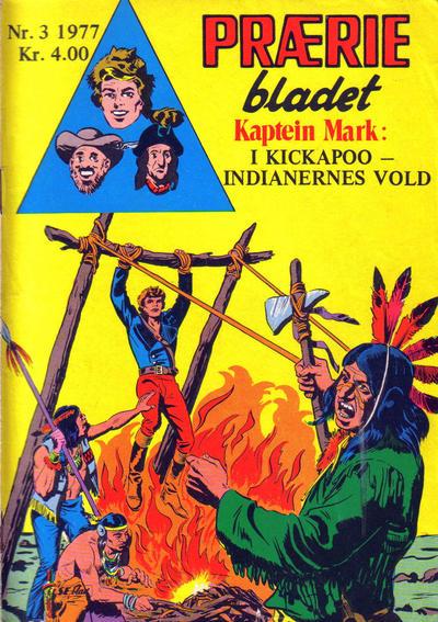 Cover for Præriebladet (Serieforlaget / Se-Bladene / Stabenfeldt, 1957 series) #3/1977