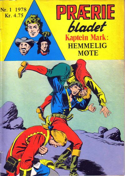 Cover for Præriebladet (Serieforlaget / Se-Bladene / Stabenfeldt, 1957 series) #1/1978