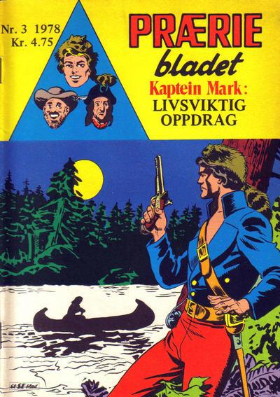 Cover for Præriebladet (Serieforlaget / Se-Bladene / Stabenfeldt, 1957 series) #3/1978