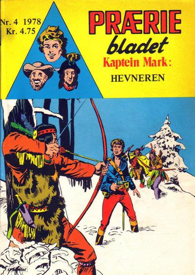 Cover for Præriebladet (Serieforlaget / Se-Bladene / Stabenfeldt, 1957 series) #4/1978