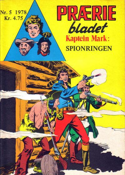 Cover for Præriebladet (Serieforlaget / Se-Bladene / Stabenfeldt, 1957 series) #5/1978
