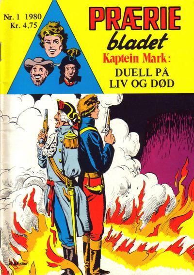Cover for Præriebladet (Serieforlaget / Se-Bladene / Stabenfeldt, 1957 series) #1/1980