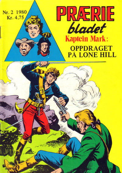 Cover for Præriebladet (Serieforlaget / Se-Bladene / Stabenfeldt, 1957 series) #2/1980