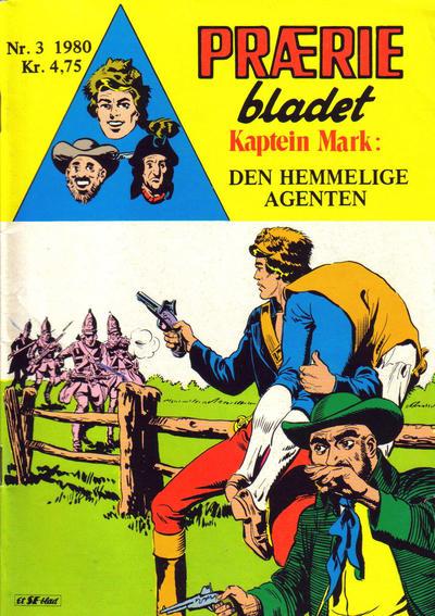 Cover for Præriebladet (Serieforlaget / Se-Bladene / Stabenfeldt, 1957 series) #3/1980