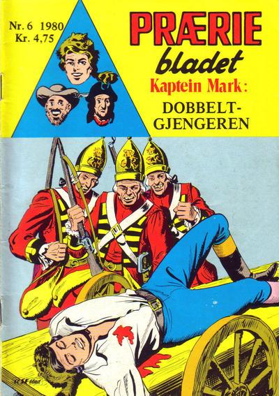 Cover for Præriebladet (Serieforlaget / Se-Bladene / Stabenfeldt, 1957 series) #6/1980