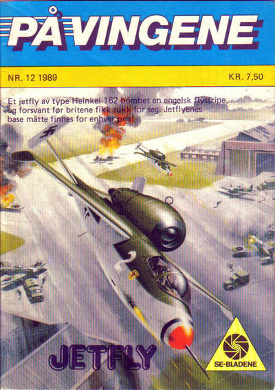Cover for På Vingene (Serieforlaget / Se-Bladene / Stabenfeldt, 1963 series) #12/1989