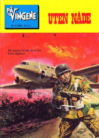 Cover for På Vingene (Serieforlaget / Se-Bladene / Stabenfeldt, 1963 series) #9/1982