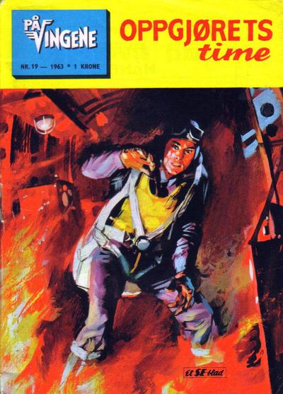 Cover for På Vingene (Serieforlaget / Se-Bladene / Stabenfeldt, 1963 series) #19/1963