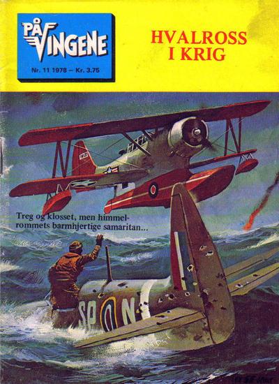 Cover for På Vingene (Serieforlaget / Se-Bladene / Stabenfeldt, 1963 series) #11/1978 [11/1977]