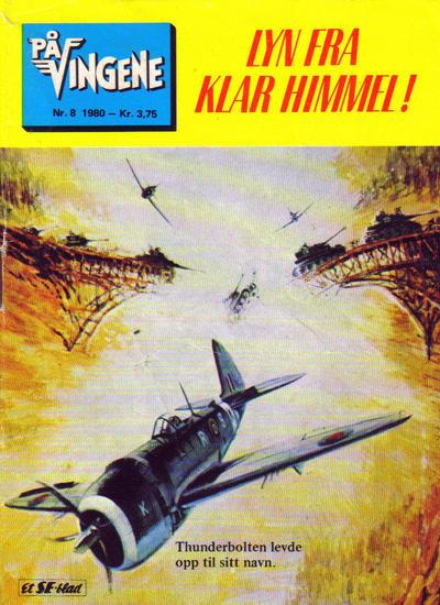Cover for På Vingene (Serieforlaget / Se-Bladene / Stabenfeldt, 1963 series) #8/1980