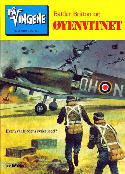 Cover for På Vingene (Serieforlaget / Se-Bladene / Stabenfeldt, 1963 series) #8/1982