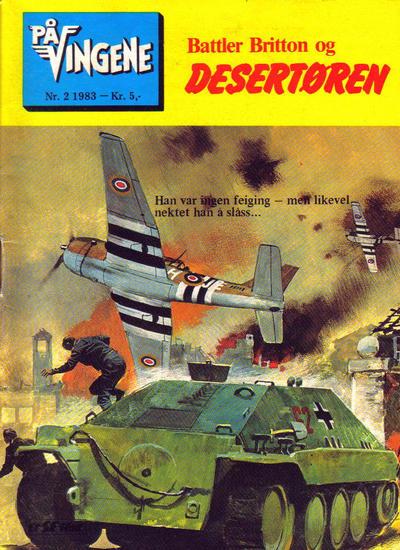 Cover for På Vingene (Serieforlaget / Se-Bladene / Stabenfeldt, 1963 series) #2/1983