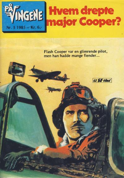 Cover for På Vingene (Serieforlaget / Se-Bladene / Stabenfeldt, 1963 series) #5/1985