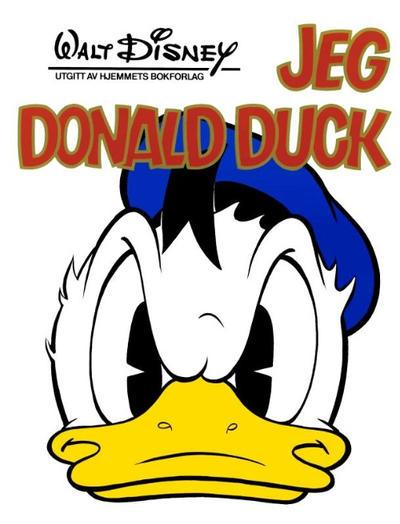 Cover for Jeg-bøkene (Hjemmet / Egmont, 1974 series) #[1974] - Jeg Donald Duck