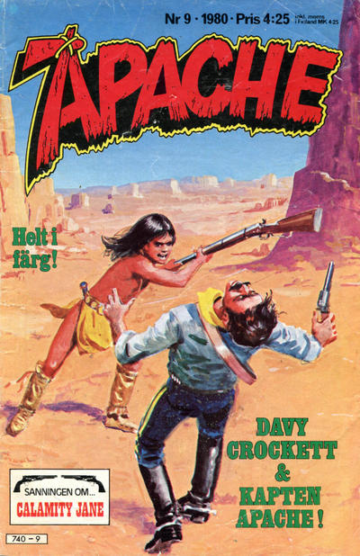 Cover for Apache (Semic, 1980 series) #9/1980