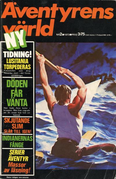 Cover for Äventyrens värld (Semic, 1973 series) #2/1973
