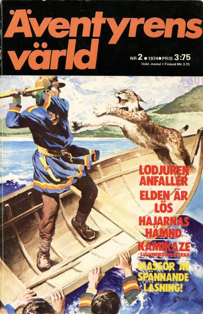 Cover for Äventyrens värld (Semic, 1973 series) #2/1974