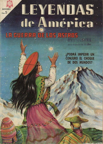 Cover for Leyendas de América (Editorial Novaro, 1956 series) #124