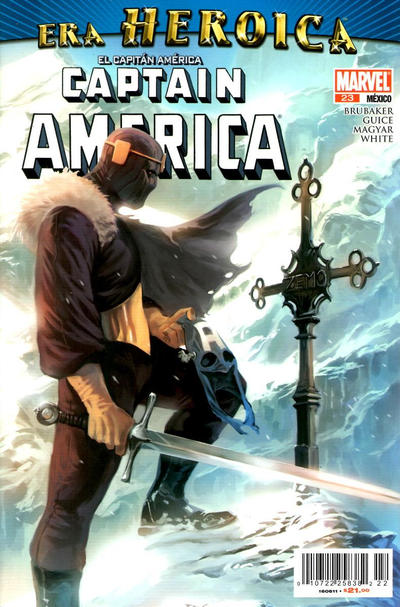 Cover for El Capitán América, Captain America (Editorial Televisa, 2009 series) #23