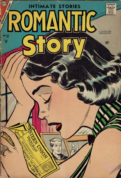 Cover for Romantic Story (Charlton, 1954 series) #37