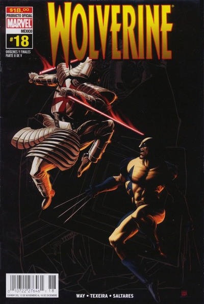 Cover for Wolverine (Editorial Televisa, 2005 series) #18