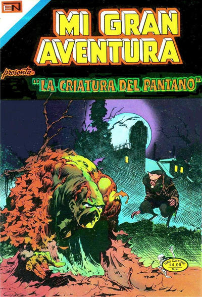 Cover for Mi Gran Aventura Serie Avestruz (Editorial Novaro, 1975 series) #4