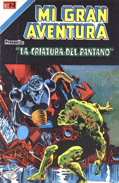 Cover for Mi Gran Aventura Serie Avestruz (Editorial Novaro, 1975 series) #6