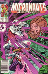 Cover for Micronauts (Marvel, 1984 series) #4 [Newsstand]