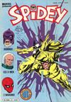 Cover for Spidey (Editions Lug, 1979 series) #37
