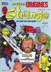 Cover for Strange Spécial Origines (Editions Lug, 1981 series) #163
