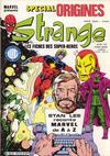 Cover for Strange Spécial Origines (Editions Lug, 1981 series) #181