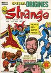 Cover for Strange Spécial Origines (Editions Lug, 1981 series) #139