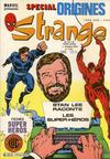 Cover for Strange Spécial Origines (Editions Lug, 1981 series) #142