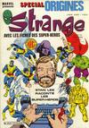 Cover for Strange Spécial Origines (Editions Lug, 1981 series) #175