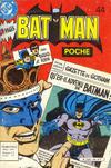 Cover for Batman Poche (Sage - Sagédition, 1976 series) #44