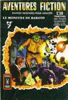 Cover for Aventures Fiction (Arédit-Artima, 1966 series) #7