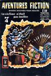 Cover for Aventures Fiction (Arédit-Artima, 1966 series) #4