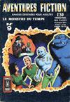 Cover for Aventures Fiction (Arédit-Artima, 1966 series) #9