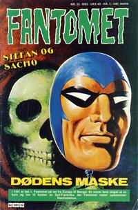 Cover Thumbnail for Fantomet (Semic, 1976 series) #22/1983