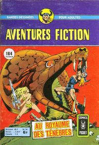 Cover Thumbnail for Aventures Fiction (Arédit-Artima, 1966 series) #54