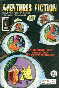 Cover Thumbnail for Aventures Fiction (Arédit-Artima, 1966 series) #40